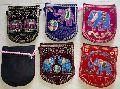 Velvet Embroidered Passport Bags