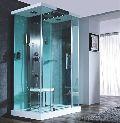 Precision White SS shower column