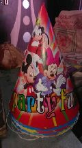 Chota Bheem Printed Birthday Cap