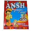 Colored Birthday Numerical Candle