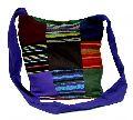 Cotton Canvas Boho Multi Color Handcrafted Hippie Indian Cross Body Long Shoulder Bag