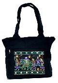 Traditional Ethnic Elephant Design Embroidered Indian Rajasthani Style Tote Ladies Cotton Handbag