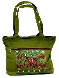 Cotton Ladies Handbag