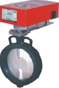 Damper Actuator Operated Butterfly Valve