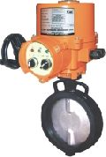 Electrical Butterfly Valve with Integral Starter Unit