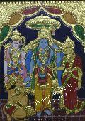 Ram Darbar Tanjore Paintings