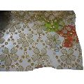 Embroidered Net Garment Fabric