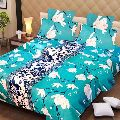 Floral Print Cotton Bed Sheets