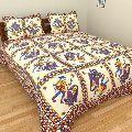 Pure Cotton Double Bedsheets