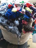 Colored Hosiery Yarn Waste