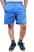 Mens Regular Fit Dobby Cotton Turquoise Colour Shorts