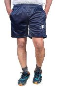Mens Regular Fit Super Ploy Navy Blue Colour Shorts
