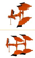 Hitech Hydraulic Reversible Plough