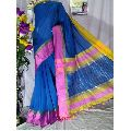 Blue Cotton Silk Sarees