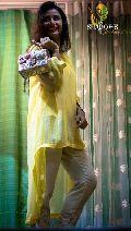 Ladies Georgette Top & Shimmer Pant