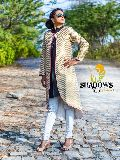 Ladies Long Brocade Jacket