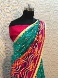 Foil Work Silk Sarees