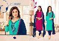 asian arts sawari saloni vol2 cotton and chanderi churidar suits catalog at wholesale