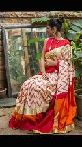 rs6800 each pochampally ikkat pure silk sarees