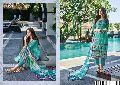 varsha saanjh cotton lawn printed suits catalog at wholesale