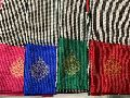 chanderi silk cotton with leaf weaving sarees