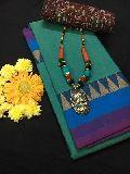chettinad cotton sarees with kalamkari blouse