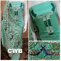 cwb soft cotton peacock embroidered suits