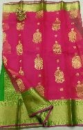 latest kanchi organza sarees