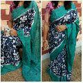 mal mal batik printed sarees