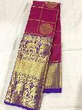 pure kanchi organza sarees with rich zari pallu