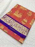 pure kanchi pattu sarees with silk weaving work
