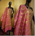 pure silk designer suits with silk dupatta