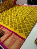 pochampally print silk cotton sarees