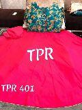tpr silk embroidered crop top