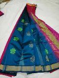 assam butta sarees with running blouse