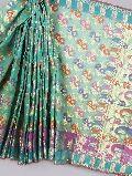 designer banarasi kora silk sarees