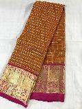 brocade blouse kanchi kora silk sarees