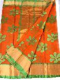 kota organza flower weaving sarees