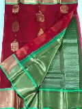 organza silk sarees