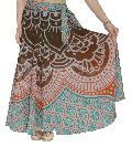 Indian Mandala Cotton Girls Skirt Long Ombre Mandala Skirts