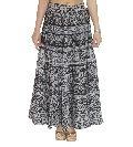 Black white women rapron skirt