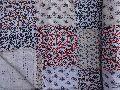 Patchwork Block Print Kantha Quilt