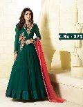 designer green salwar suit
