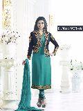 designer rama Straight cut Salwar suit