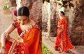Heavy Embroidery Saree