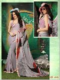 Georgette Synthetic Saree