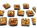 Wall Nut Milk Chocolate In Burfi Shape