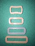 plastic rectangle buckles surgical belt buckle