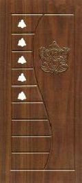 Pooja -04 Wooden Membrane Door