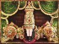 3D Imposing Head Balaji Tanjore Painting